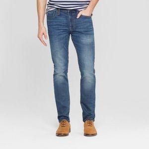 Bullhead Mens Skinny Denim Jeans Size 30X30